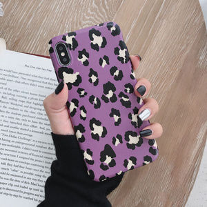 Accessories - Purple Leopard iPhone Case 7 8 Plus X XS XR Max